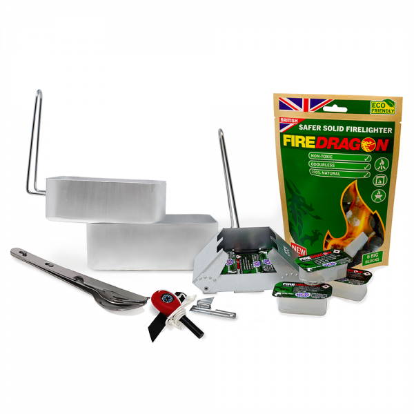 Outdoor cooking set voor koken