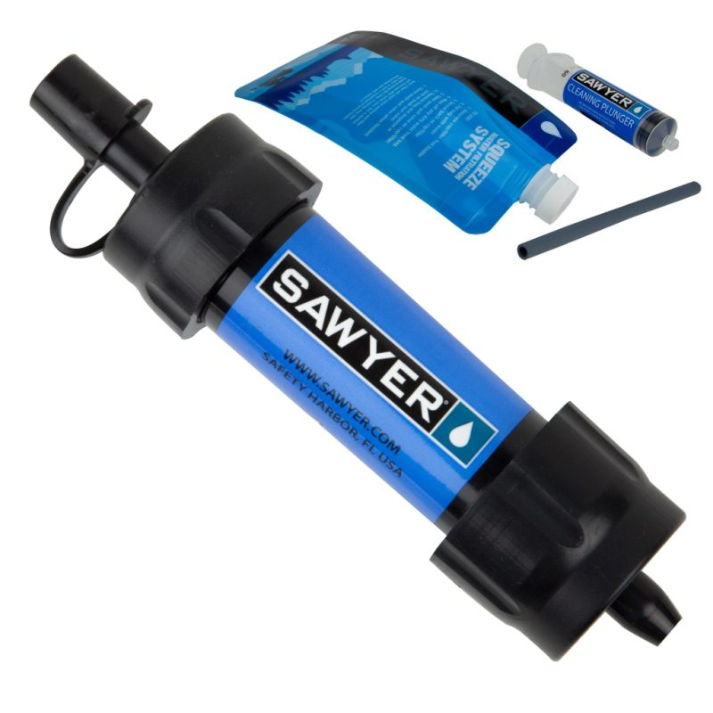 Sawyer waterfilter mini blauw sp128