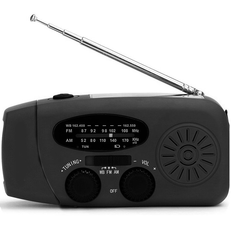 Noodradio voor in noodpakket
