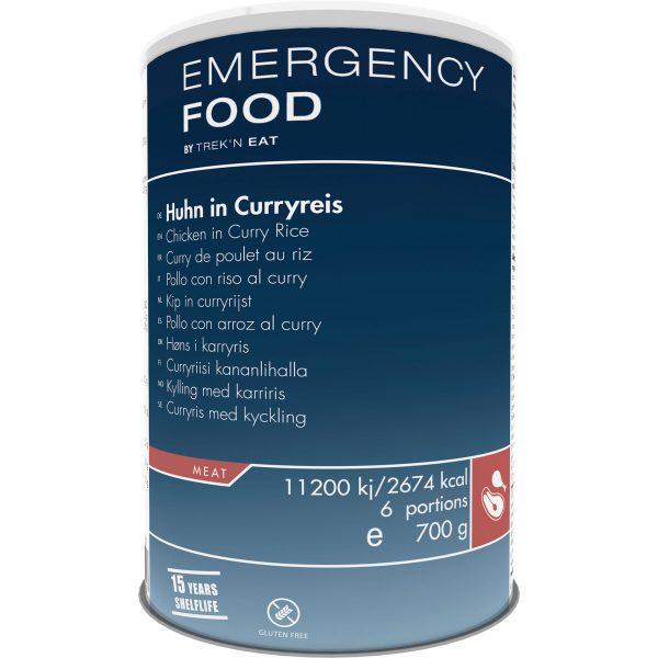Emergency food lang houdbaar